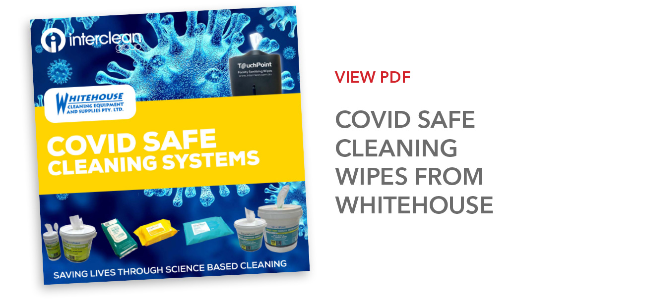 Covid Safe Cleaning Wipes from Whitehouse