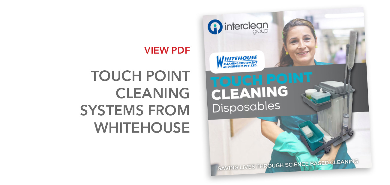 TouchPoint Cleaning Systems from Whitehouse